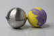 Bath Bomb Mould 80mm, Stainless Steel