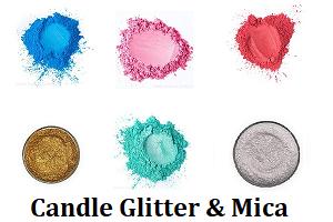 Candle Glitter & Mica