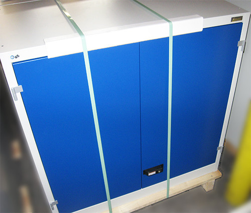 Garant Gridline Clearance Item Garant Gridline Top-Mounted Cabinet with Plain Sheet Metal Swing Doors 750 mm Height