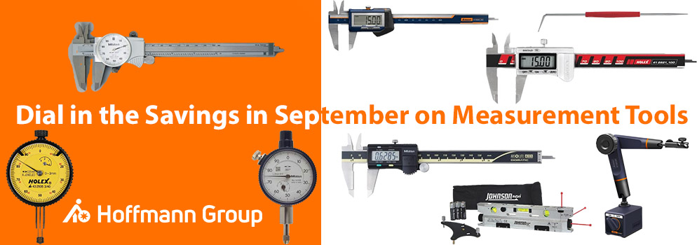 Special Savings on Measurement Tools in September at HoffmannGroupUSA.com