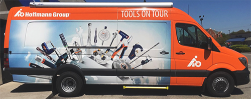 Schedule the Hoffmann Group USA Demo Van