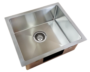 SINK KITCHEN SINGLE BOWL SQUARELINE PLUS