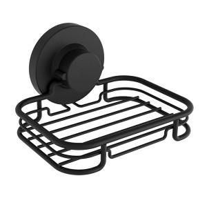 SOAP DISH BLACK INSTALOC