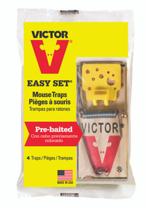 MOUSE TRAP EASY SET WOODEN VICTOR