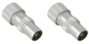 CONNECTOR COAXIAL M / F PAIR