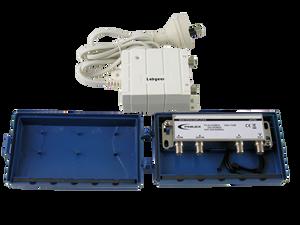 AMPLIFIER VHF/UHF MASTHEAD 2 OUTPUTS