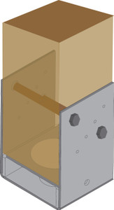 POST SUPPORT BOLT DOWN POST