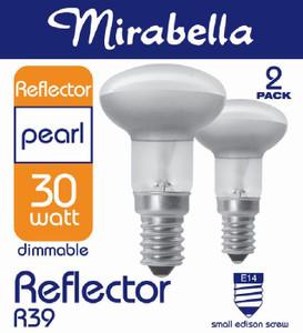 GLOBE HALOGEN REFLECTOR R39 SES 30W PK2