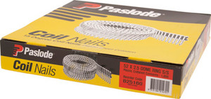 NAIL COIL 52 X 2.5 RING S/S DOME