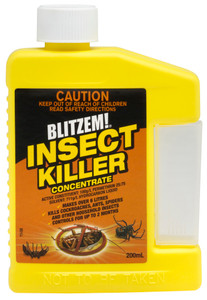INSECTICIDE INSECT KILLER CONC 200ML