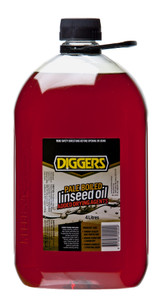OIL LINSEED BOILED 4L