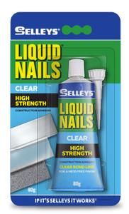 ADHESIVE CLEAR LIQUID NAILS