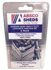 ANCHOR SET SHED PK8