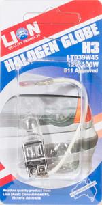 GLOBE Q/HAL CARDED H3 12V 100W