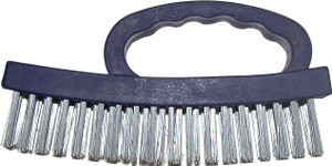 BRUSH WIRE BLOCK WITH TOP HANDLE