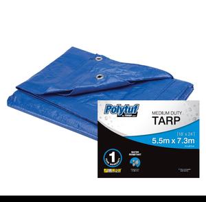 TARPAULIN MED BLUE