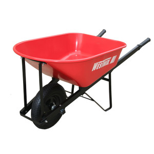 WHEELBARROW 100L TRADE STEEL 4.8IN WH