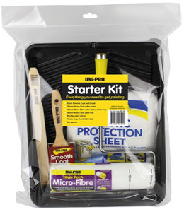 PAINT STARTER KIT DIY 7PCE UNI PRO