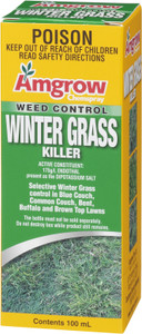 Herbicide Winter Grass Kill  100ml Chemspray  80020 Amgrow