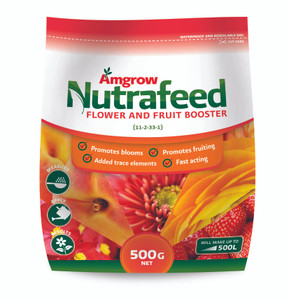 FERTILIZER FLOWER & FRUIT NUTRAFEED 500G