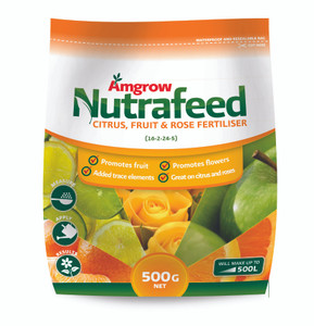 FERTILIZER CITRUS FRUIT/ROSE N/FEED 500G