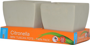 CANDLE CITRONELLA TUSCAN POT 2PK