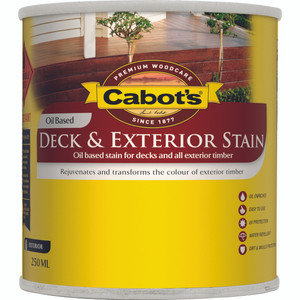 CABOTS DECK STAIN/EXT OB HSE/GREY 250ML