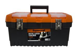 TOOLBOX W/METAL LATCH