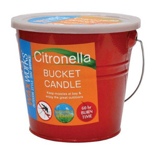 CANDLE CITRONELLA BUCKET 2L