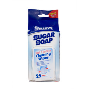 WIPES SUGAR SOAP PK25