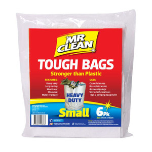BAG TOUGH  SMALL PK6 MR CLEAN
