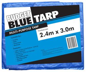 TARPAULIN BUDGET BLUE 2.4M X 3.0M