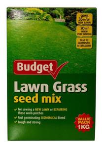SEED LAWN GRASS BUDGET 1KG YATES