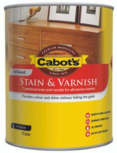 CABOTS STAIN/VRNSH TINT BASE SATIN 1L