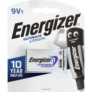ENERGIZER LITHIUM 9 VOLT BATTERY