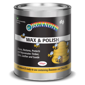 WAX & POLISH NATURAL 500ML ORGANOIL