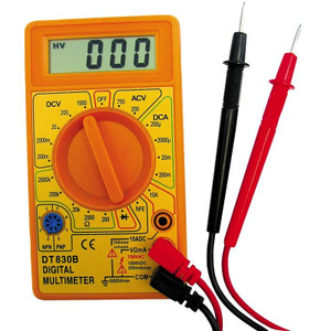 MULTI METER DIGITAL AC/DC & DC CURRENT
