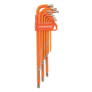 HEX KEY WRENCH SET T/PROOF PK9