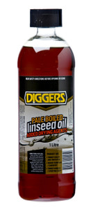 OIL LINSEED BOILED 1L DIGGERS