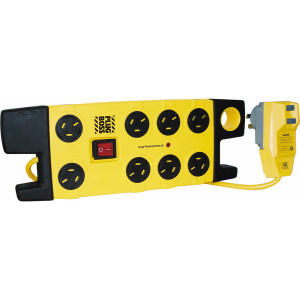 POWERBOARD 8 OUTLET SURGE PLUG BOSS