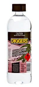 TURPENTINE PURE GUM 1L DIGGERS