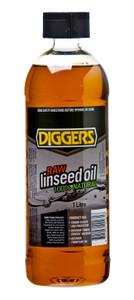 OIL LINSEED RAW 1L