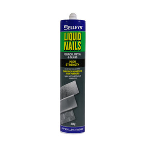 ADHESIVE MIRR MET GLS 310G LIQUID NAILS