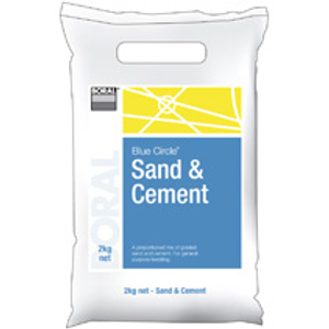 SAND & CEMENT BLUE CIRCLE