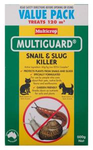 PESTICIDE SNAIL & SLUG 600G MULTIGUARD