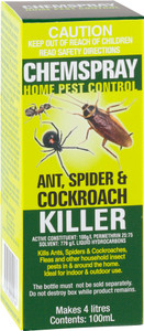 INSECTICIDE ANT/SPID/ROACH 100ML