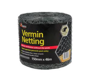 NETTING WIRE VERMIN 15X1.3X56 46M