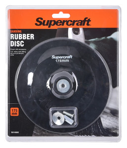 DISC BACKING RUBBER