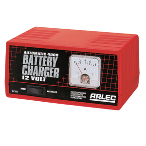 CHARGER BATTERY FULLY AUTO 12V/4 AMP