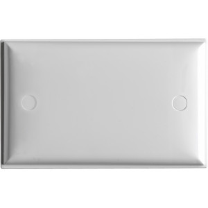 SWITCH PLATE ONLY STD WH BAGGED